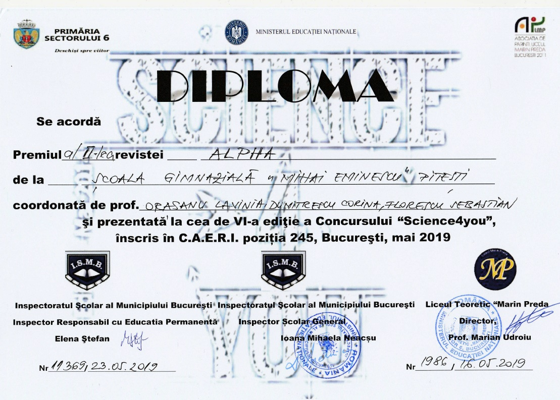 Diploma Science4you